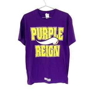 🔥NWOT PURPLE REIGN M Shirt Vikings Skol Minnesota